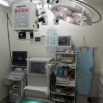 手術室・レントゲン室・・・超音波検査もここで行います